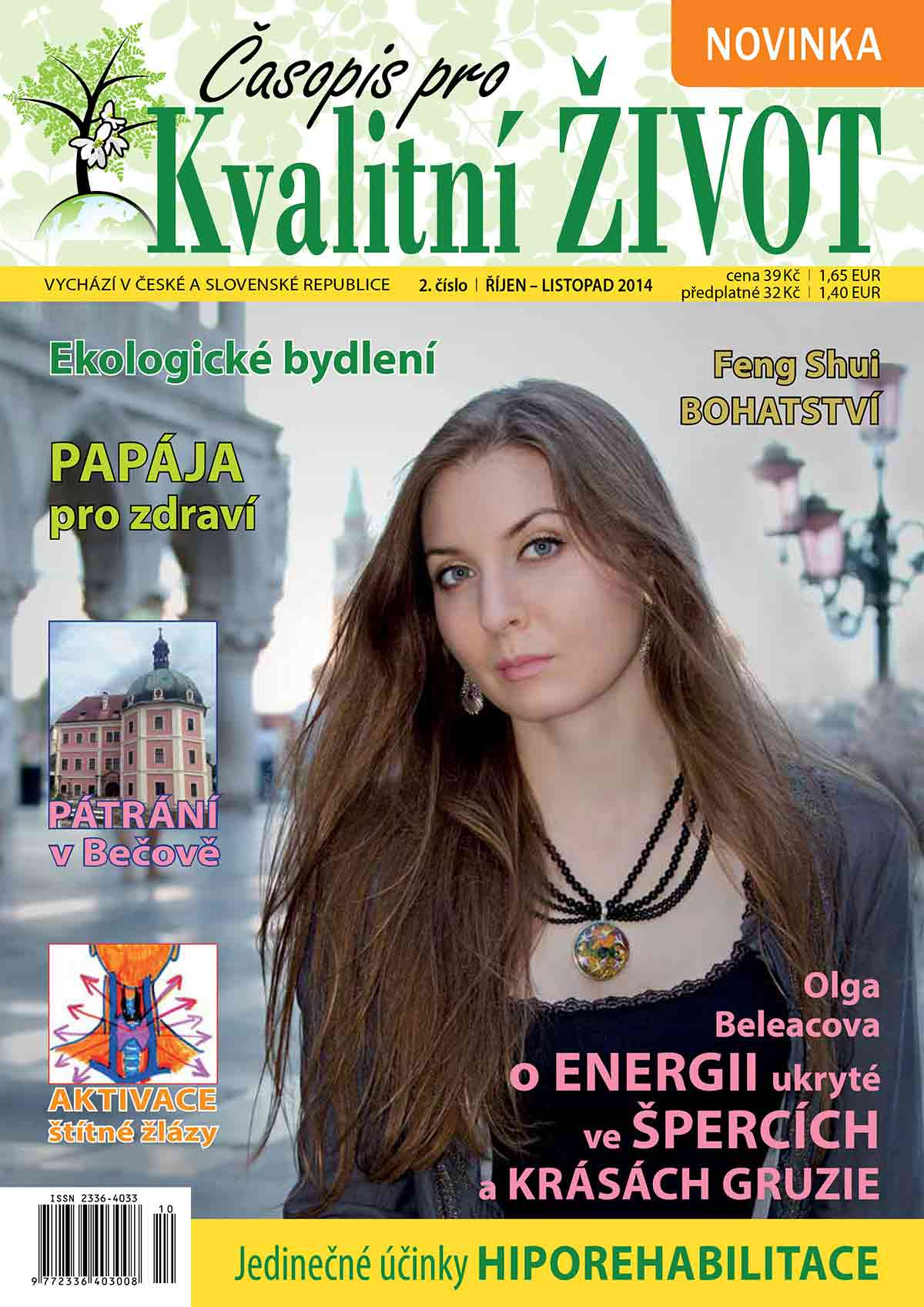 Kvalitní život, 10-11/2014