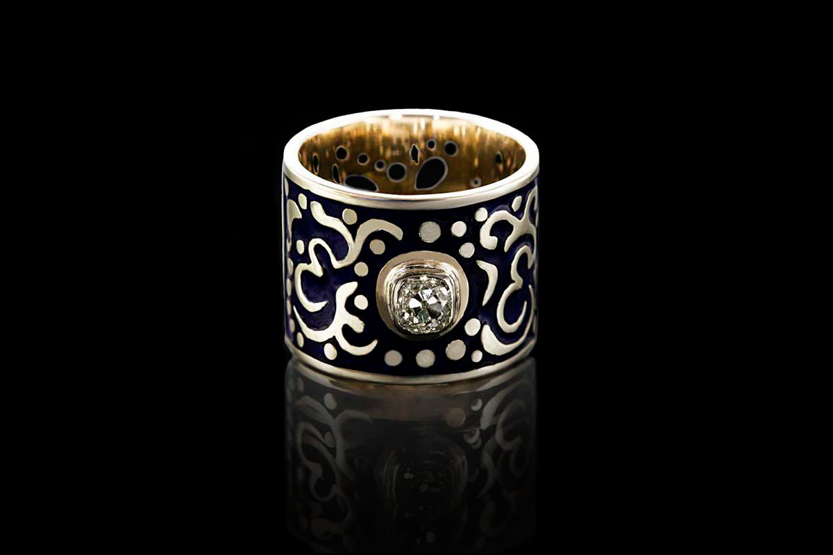 "RING ""ORIENTAL PRINCESS"""