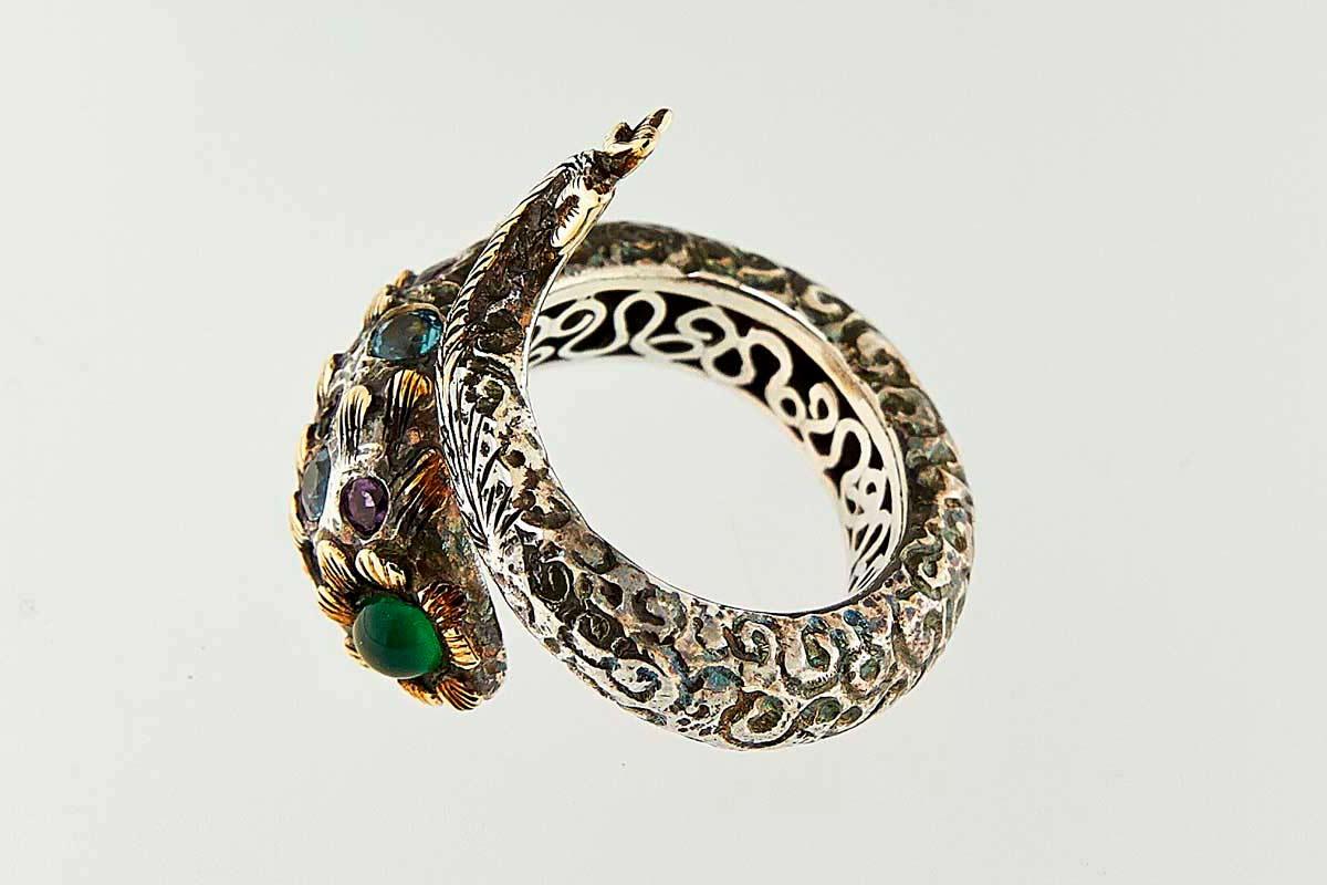 """Omalgami Ring """"Fish of Dream"""""""