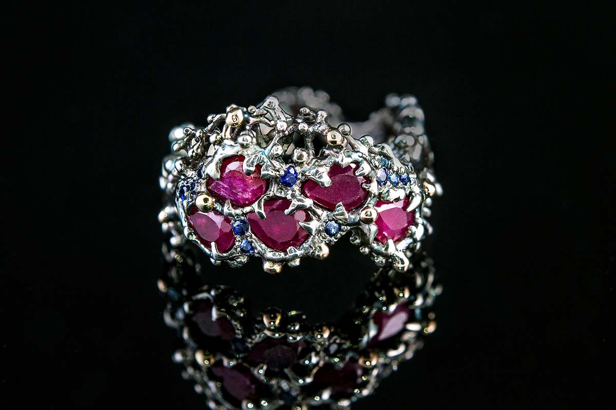 Omalgami Ring Eros ruby