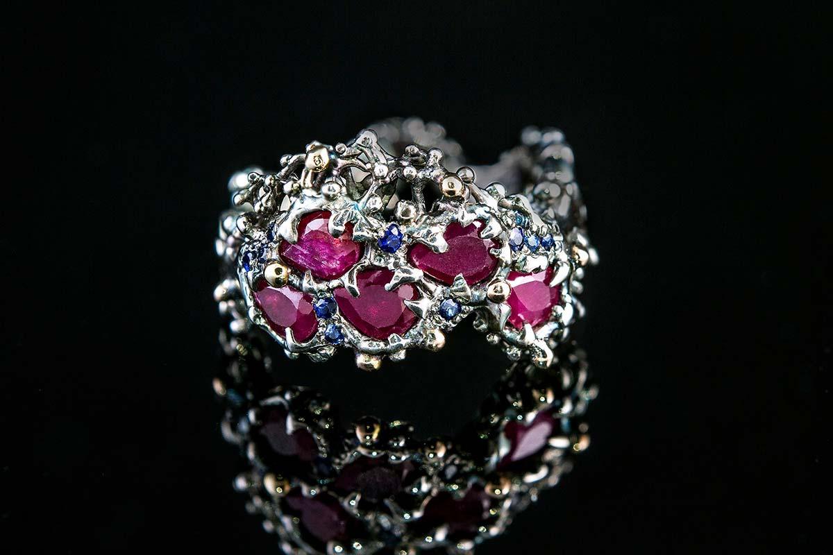 Omalgami Ring Eros ruby