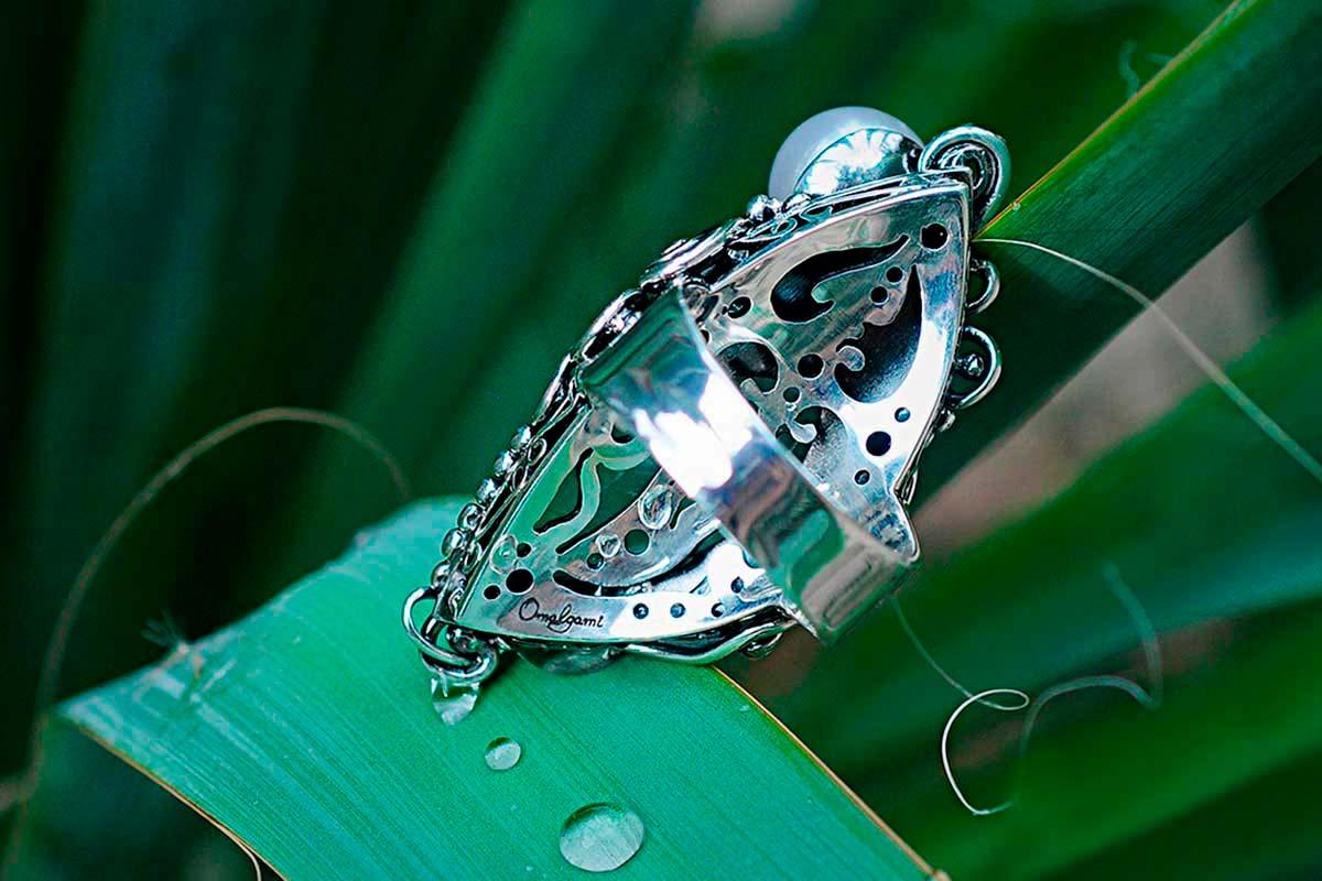 Ring Magic eye