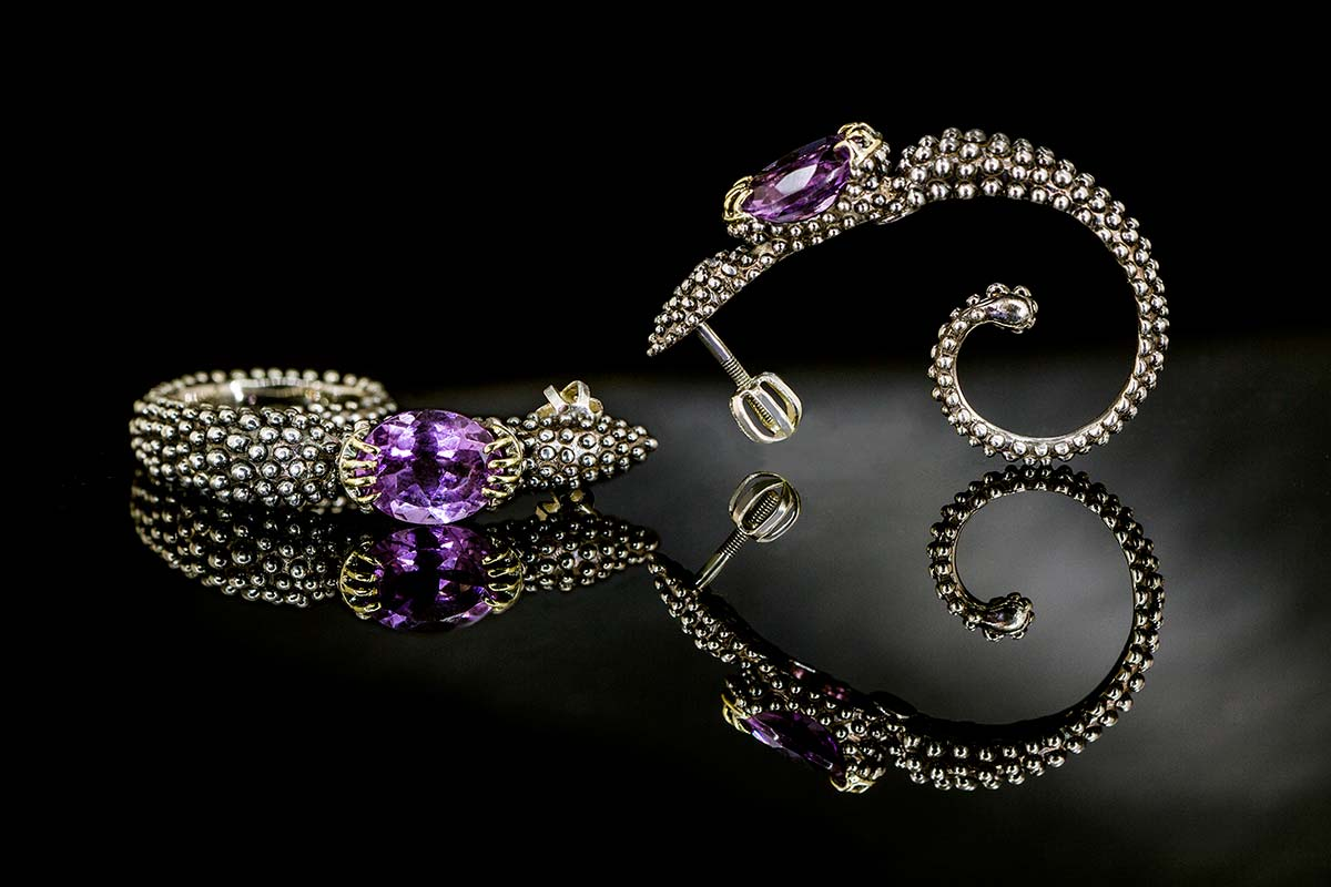 Omalgami earring- Scorpius,